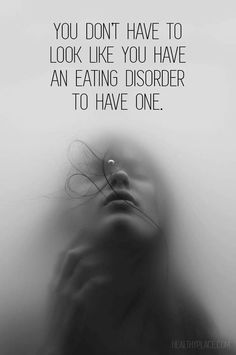 eating disorder portrayal, what an eating disorder looks like, eating disorders in the media, anorexia, bulimia